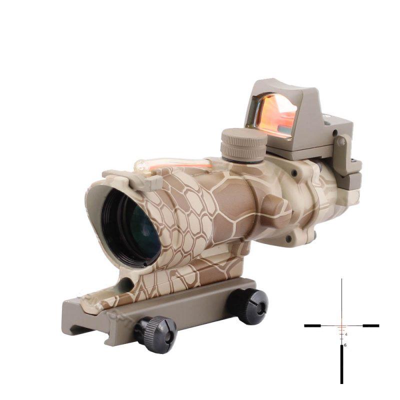 red dot rifle scope