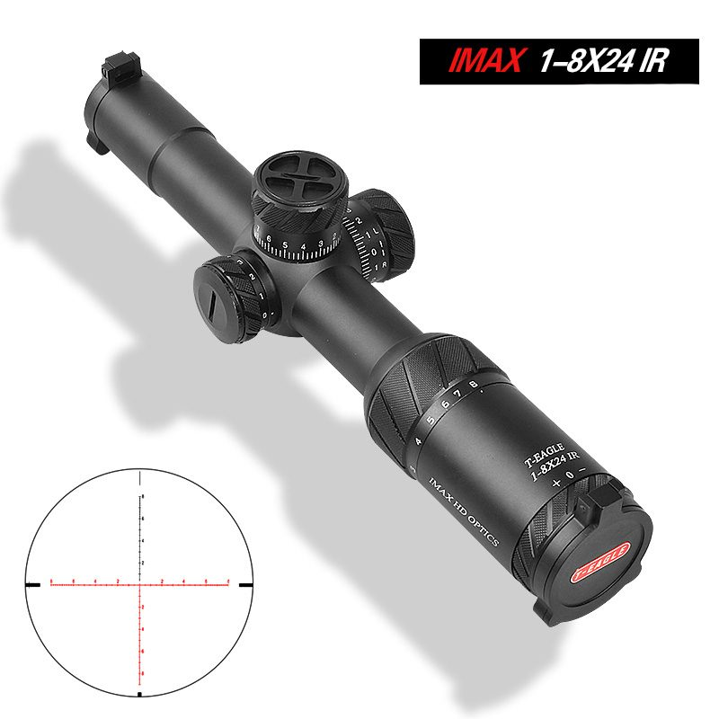 T-EAGLE IMAX 1-8X24IR Best Rifle Scope for Hunting Tactical Riflescope pic