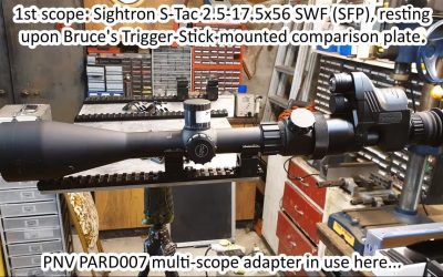 Day-scope adapters testing Pt.2/2 for 2020 PARD 007 digital night vision monocular