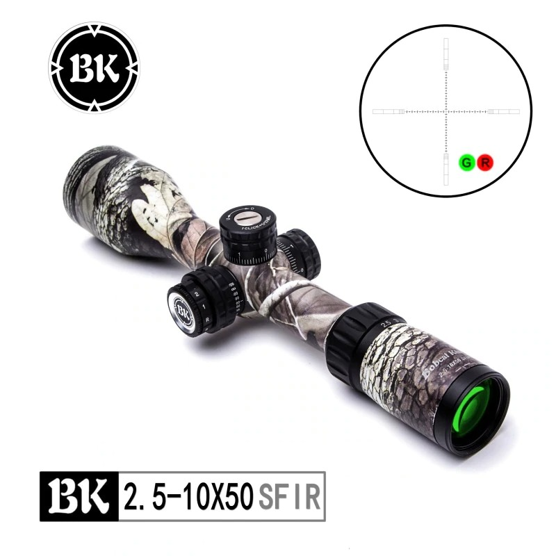 Bobcat King 2.5-10X50 SFIR Riflescope Airsoft Hunting Rifle Scope  1