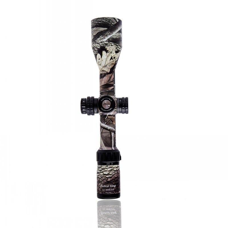 Bobcat King 2.5-10X50 SFIR Riflescope Airsoft Hunting Rifle Scope  4
