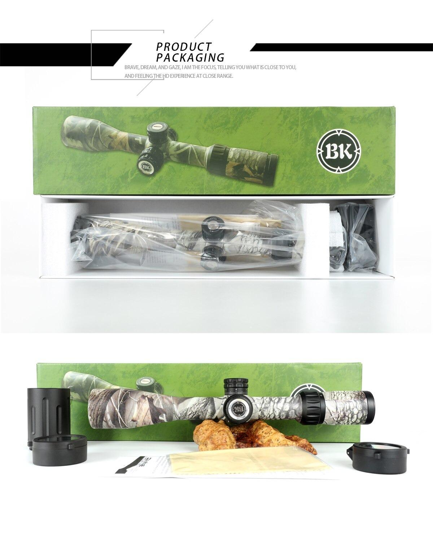 Bobcat King 4-16X44 SFIR Riflescope Airsoft Hunting Rifle Scope 9