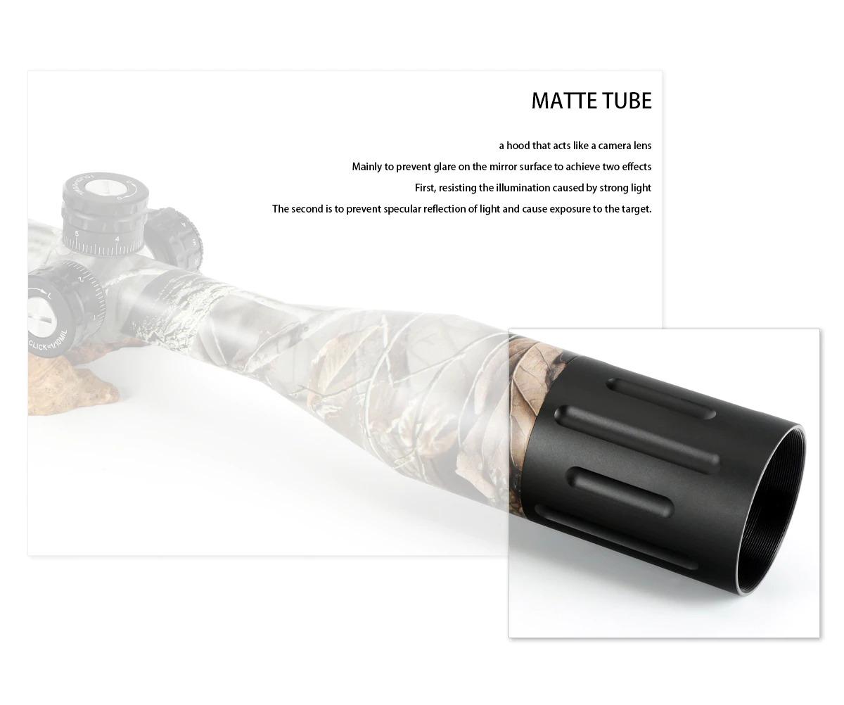 Bobcat King 5-20X50 SFIR Riflescope Airsoft Hunting Rifle Scope 5