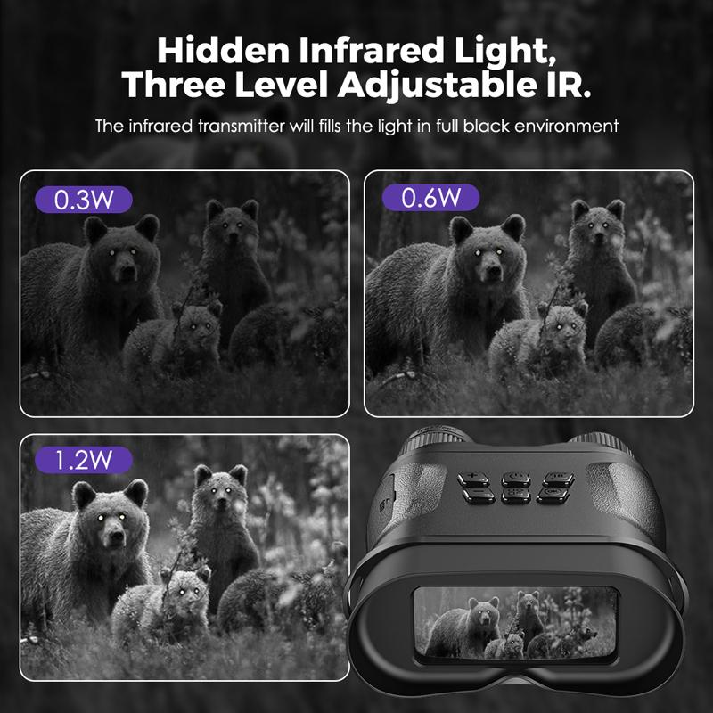 Best Night Vision Binoculars WildGuarder NV001A 5