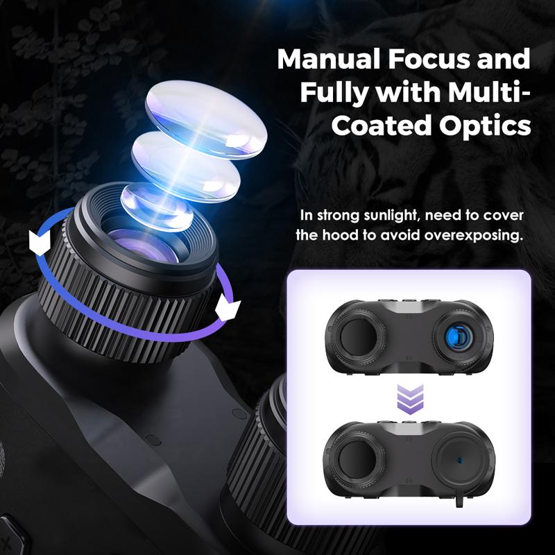 Best Night Vision Binoculars WildGuarder NV001A 6