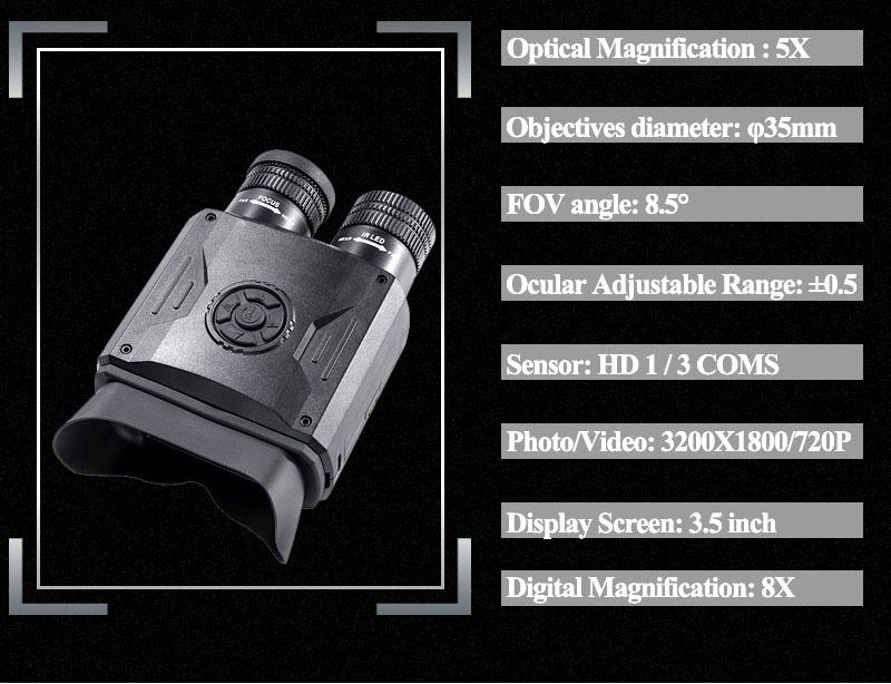 Best Night Vision Binoculars WildGuarder NV600 PRO 7