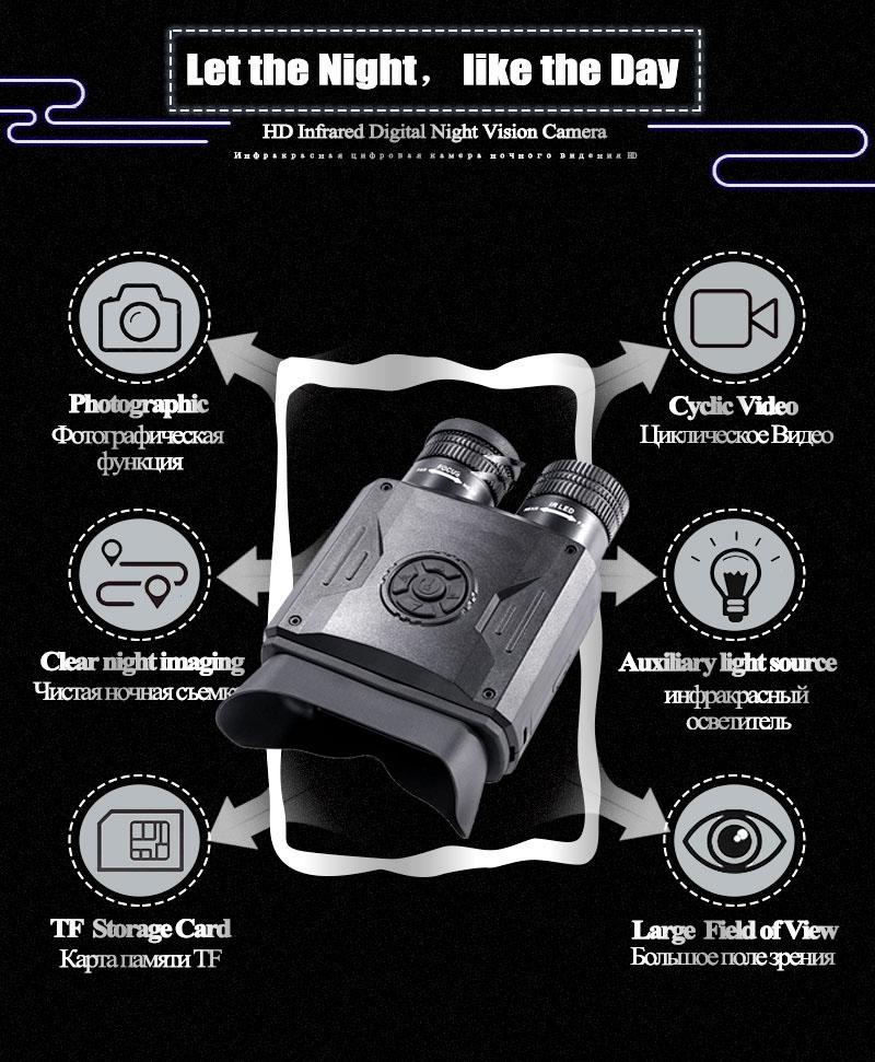Best Night Vision Binoculars WildGuarder NV600 PRO 2