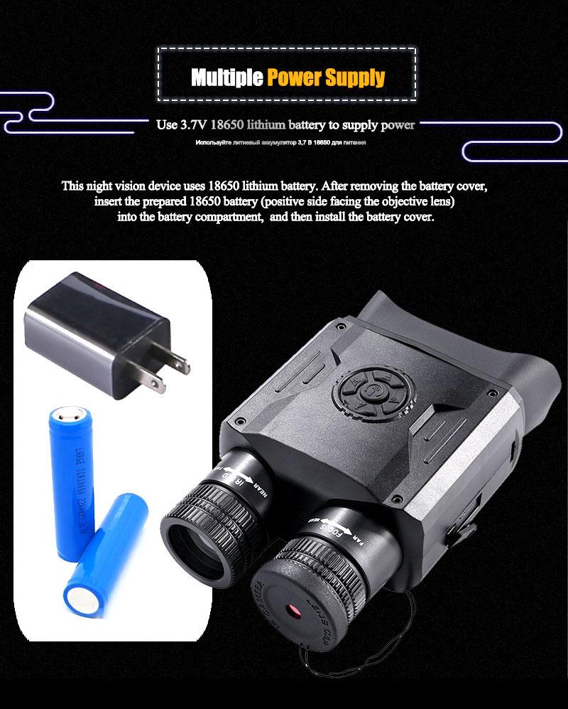 Best Night Vision Binoculars WildGuarder NV600 PRO 6